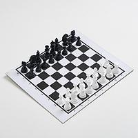 Настольная игра 'Шашки-Нарды-Шахматы', поле 21.7х18.5, d1.3 см
