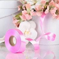Лента для декора и подарков, ярко-розовый, 2 см х 45 м (комплект из 4 шт.)