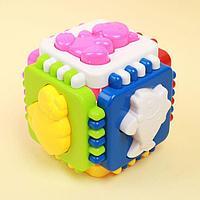 Логический куб 'Весёлые зверята'