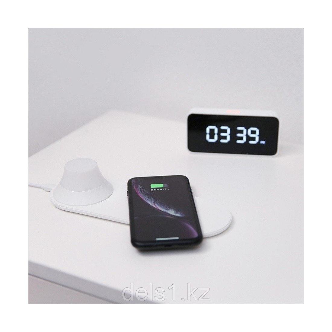 Беспроводное зарядное устройство с ночником, Xiaomi Yeelight, Wireless charge nightlight YLYD08YI, Белый