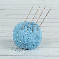 Крючки для вязания металлические 'Рукодельница', d 1/1,2/1,6/2 мм, 13,5 см, 4 шт
