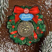 Рождественская монета-талисман 'Колокольчики'