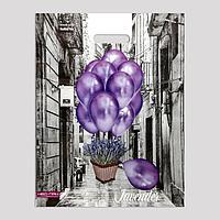 Набор пакетов 'Воздушные шары', полиэтиленовый с вырубной ручкой, 38х47 см, 60 мкм