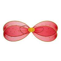 Карнавальные крылья 'Стрекоза', для детей, цвет красный