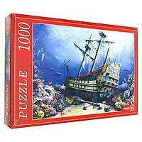 Пазл 1000 элементов 'Затонувший корабль'