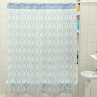 Штора для ванной комнаты Доляна 'Лейла', 180x180 см, EVA