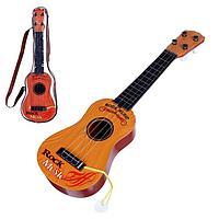 Детский музыкальный инструмент 'Гитара Классика', цвета МИКС
