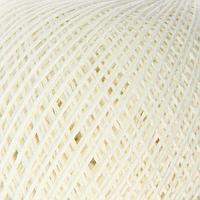 Нитки вязальные 'Пион' 200м/50гр 70 хлопок, 30 вискоза цвет 0101 (комплект из 6 шт.)