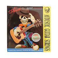 Струны для акустической гитары Alice A206P-SL Super Light, фосфорная бронза