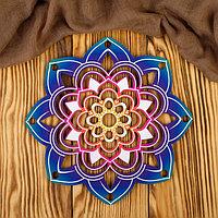Заготовка для вязания 'Ловец снов цветной. Цветок' 3мм