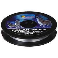 Леска AQUA Polar Wolf 0,16, 30 м (комплект из 10 шт.)