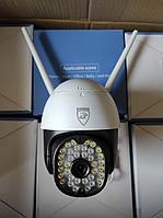 Уличная поворотная Wi-Fi камера Yoosee видеокамера PTZ