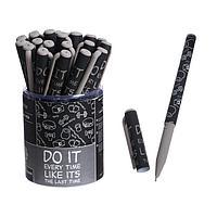 Ручка шариковая PrimeWrite 'Фитнес.Паттерн', 0,7 мм, синие чернила на масляной основе
