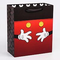 Пакет ламинат вертикальный 'Микки', Микки Маус, 23х27х11,5 см