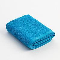 Полотенце махровое Экономь и Я 30х60 см, цв. голубой, 100 хл, 320 г/м