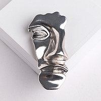 Брошь-подвеска 'Облик', цвет серебро