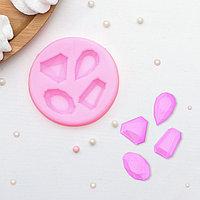 Молд силиконовый 'Драгоценные камни', 7,3x1 см