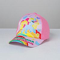 Кепка детская 'Любимая доченька', р-р. 52-54, 3-7 лет, цвета МИКС