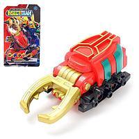 Робот 'Жук', трансформируется, красный, инерция
