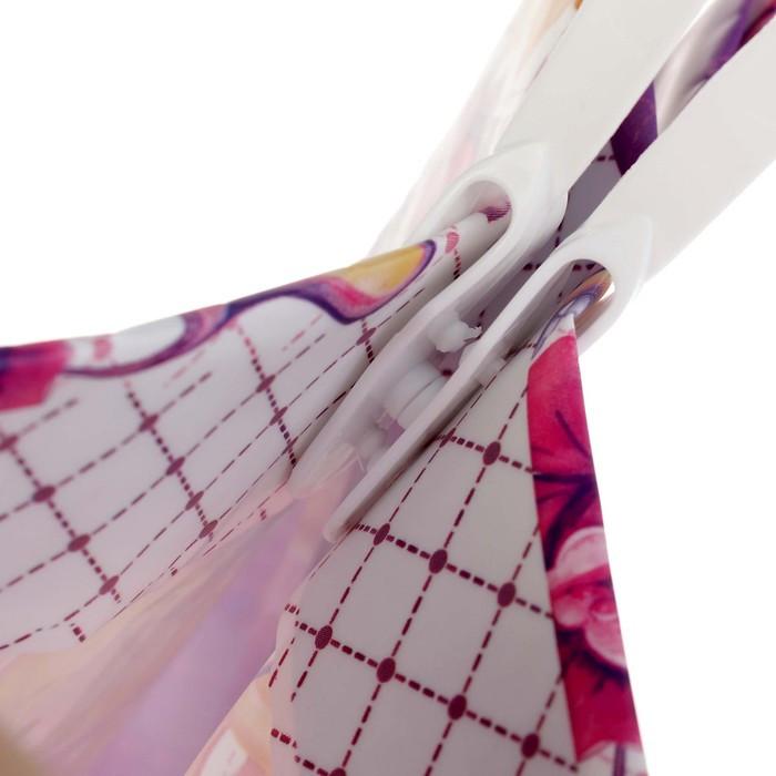 Пакет 'София', мягкий пластик, 23 х 27 см, 150 мкм (комплект из 10 шт.) - фото 2