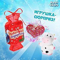 Игрушка-конфетка 'Новогодний подарочек' заколка, фигурка, МИКС
