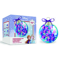 Набор для творчества 'Новогодний шар с растущими шариками', Холодное сердце