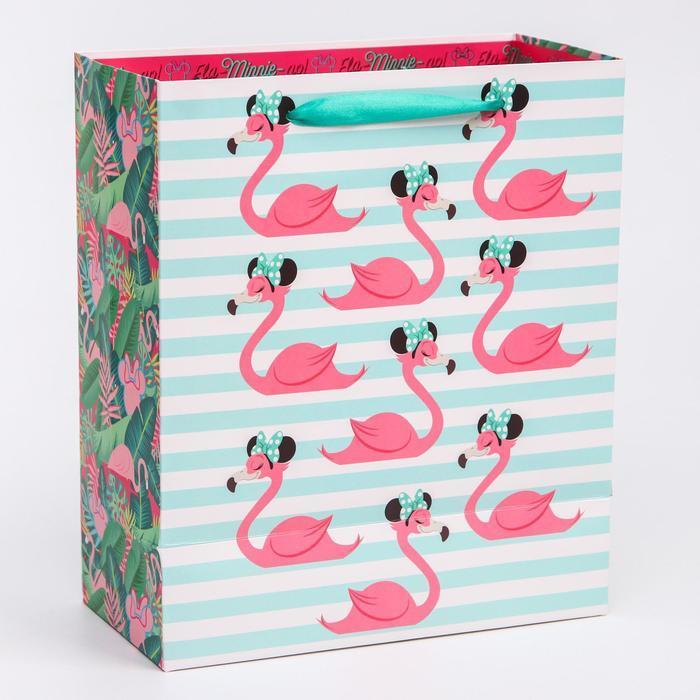 Пакет ламинат вертикальный 'Fla-Minnie-go', Минни Маус, 23х27х11,5 см - фото 2
