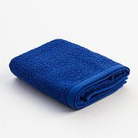 Полотенце махровое Экономь и Я 30х60 см, цв. синий, 100 хл, 320 г/м
