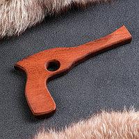 Сувенирное деревянное оружие 'Револьвер', 25 см, массив бука