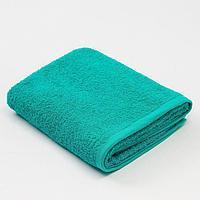 Полотенце махровое 'Экономь и Я', 50х90 см, цвет аквамарин
