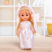 Кукла классическая 'Крошка Сью' в платье, 17 см, МИКС