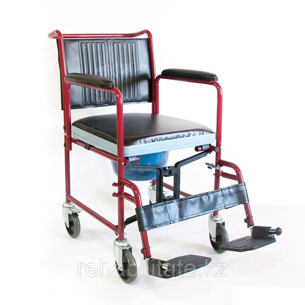 Кресло-коляска инвалидная (с санитарным устройством) FS692-45