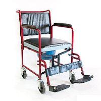 Кресло-коляска инвалидная (с санитарным устройством) FS692-45, фото 1