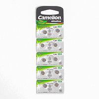 Батарейка алкалиновая Camelion Mercury Free, AG4 (377, LR626)-10BL, 1.5В, блистер, 10 шт.