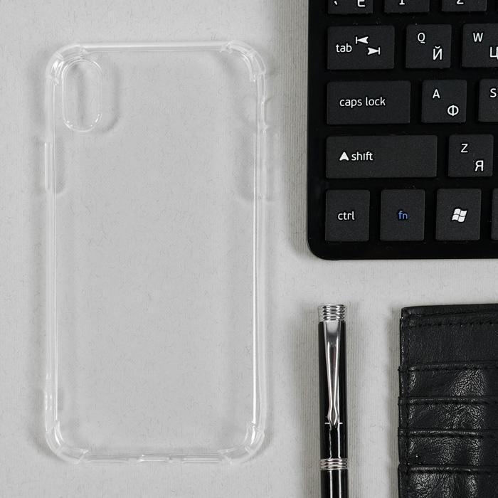 Чехол LuazON, для телефона iPhone XR, силиконовый, тонкий, противоударный - фото 1