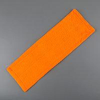 Насадка для плоской швабры Доляна, 41,5x12,5 см, 50 гр, микрофибра, цвет МИКС