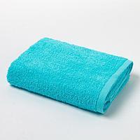 Полотенце махровое 'Экономь и Я', 50х90 см, цвет небесно-голубой