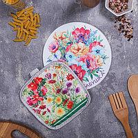 Многофункциональная кухонная доска + прихватка'Любимая бабушка', 20 см