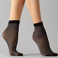 Носки женские RN 04 цвет чёрный/серый (nero/grey gul), р-р 23-25 (37-40)