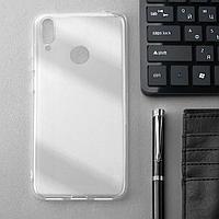 Чехол Innovation, для Huawei Honor Y7(2019), силиконовый, прозрачный