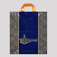 Пакет 'Ориджинал корона', полиэтиленовый с петлевой ручкой, 33x37 см, 95 мкм (комплект из 25 шт.)