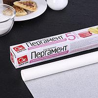 Пергамент для выпечки силиконизированный 38 см x 5 м Grifon, в футляре
