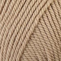 Пряжа 'Зимний вариант' 95 имп.шерсть, 5 акрил объёмный 100м/100гр (270-Мокрый песок)