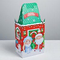 Складная коробка 'Дружная семья', 19 х 39 х 11 см, вместимость - 800 гр. (комплект из 3 шт.)