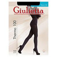 Колготки женские Giulietta THERMO 100 den, цвет чёрный (nero), размер 2