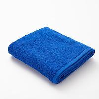 Полотенце махровое 'Экономь и Я', 50х90 см, цвет сапфировый