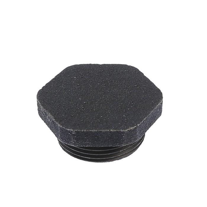 Пробка для чугунного радиатора, глухая, правая (комплект из 5 шт.) - фото 1
