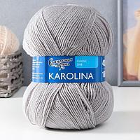 Пряжа Karolina (Каролина) 100 акрил 438м/100гр перламутр (371) (комплект из 2 шт.)