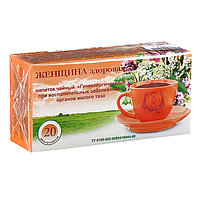 Травяной сбор 'Женщина здоровая. Гинекологический', фильтр-пакет, 20 шт.