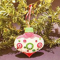 Набор для создания подвесной ёлочной игрушки из фетра 'Прелесть'
